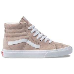 VANS Unisex Pig Suede high top, light brown/cream